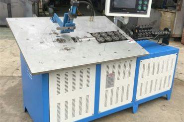 Penjualan panas otomatis kawat baja 3d membentuk mesin cnc, 2d kawat lentur harga mesin