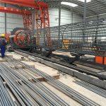 harga terbaik mesin roll wire mesh dilas, memperkuat kandang jahitan diameter welder 500-2000mm