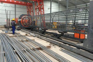Harga terbaik dilas wire mesh roll mesin, memperkuat kandang jahitan diameter welder 500-2000mm