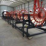 cnc penguat tumpukan baja rebar kandang membuat mesin las