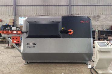 Produsen china 4-12mm otomatis cnc kontrol kawat baja, rebar mesin bending