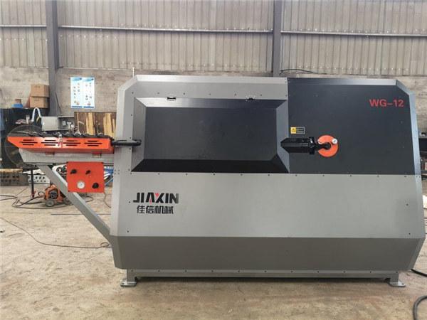 Portabel rebar pijakan kaki mesin bending CNC baja bulat bar memotong dan mesin bending